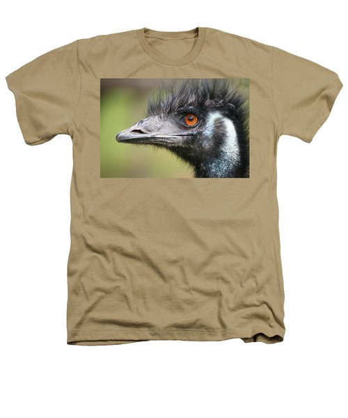 Emu Heathers T-Shirt by Karol Livote