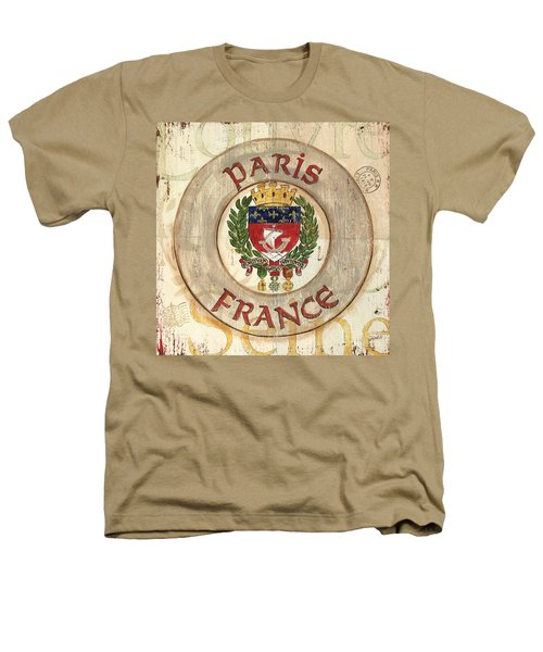 French Coat Of Arms Heathers T-Shirt by Debbie DeWitt