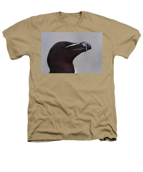 Razorbill Portrait Heathers T-Shirt by Bruce J Robinson