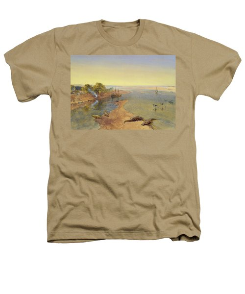 The Ganges Heathers T-Shirt by William Crimea Simpson