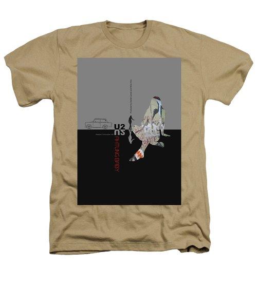 U2 Poster Heathers T-Shirt by Naxart Studio