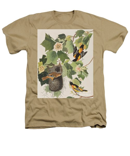 Baltimore Oriole Heathers T-Shirt by John James Audubon