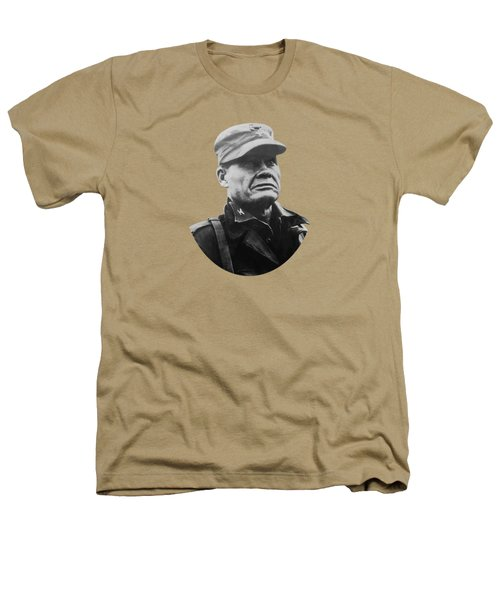 Chesty Puller Heathers T-Shirt by War Is Hell Store