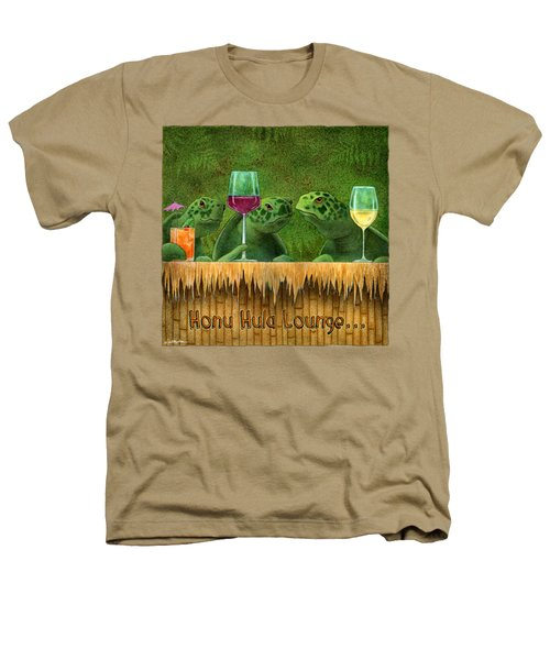 Honu Hula Lounge... Heathers T-Shirt by Will Bullas