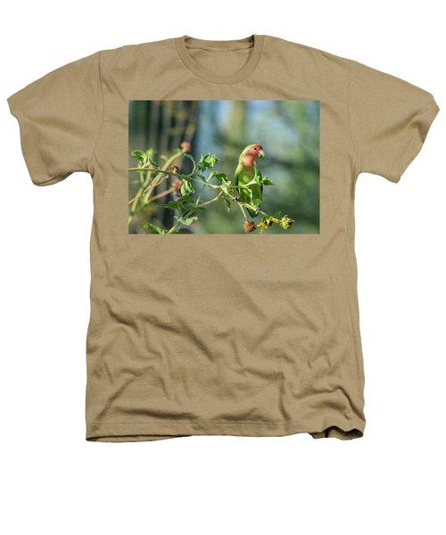 Lovely Little Lovebird  Heathers T-Shirt by Saija Lehtonen
