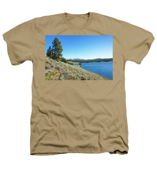 Meadowlark Lake View Heathers T-Shirt by Jess Kraft
