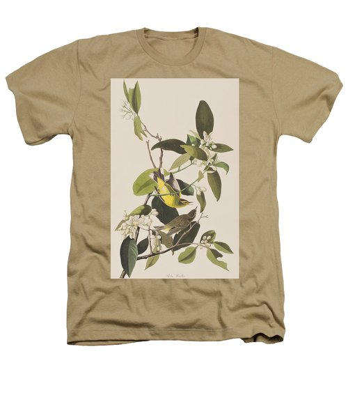 Palm Warbler Heathers T-Shirt by John James Audubon