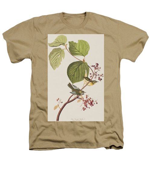 Pine Swamp Warbler Heathers T-Shirt by John James Audubon