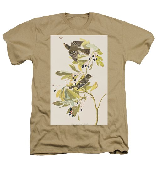 Small Green Crested Flycatcher Heathers T-Shirt by John James Audubon