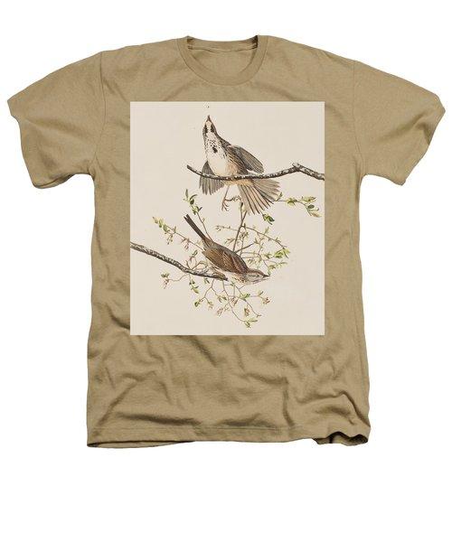 Song Sparrow Heathers T-Shirt by John James Audubon