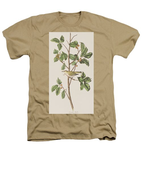 Tennessee Warbler Heathers T-Shirt by John James Audubon