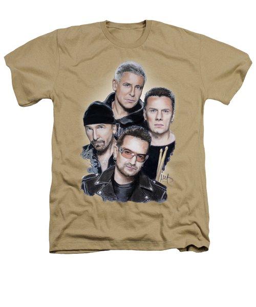 U2 Heathers T-Shirt by Melanie D