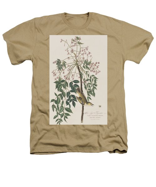 White-eyed Flycatcher Heathers T-Shirt by John James Audubon