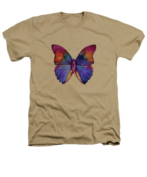 13 Narcissus Butterfly Heathers T-Shirt by Amy Kirkpatrick