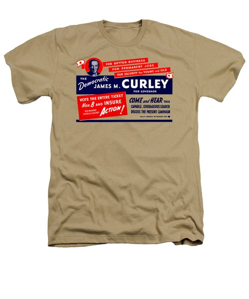 1934 James Michael Curley Heathers T-Shirt by Historic Image