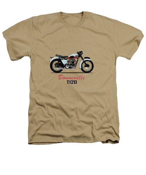 1959 T120 Bonneville Heathers T-Shirt by Mark Rogan