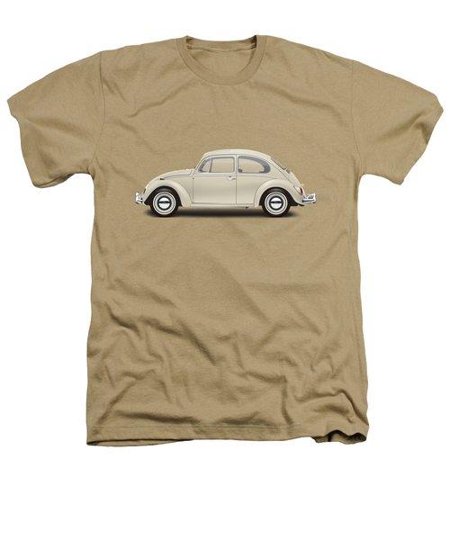 1965 Volkswagen 1200 Deluxe Sedan - Panama Beige Heathers T-Shirt by Ed Jackson