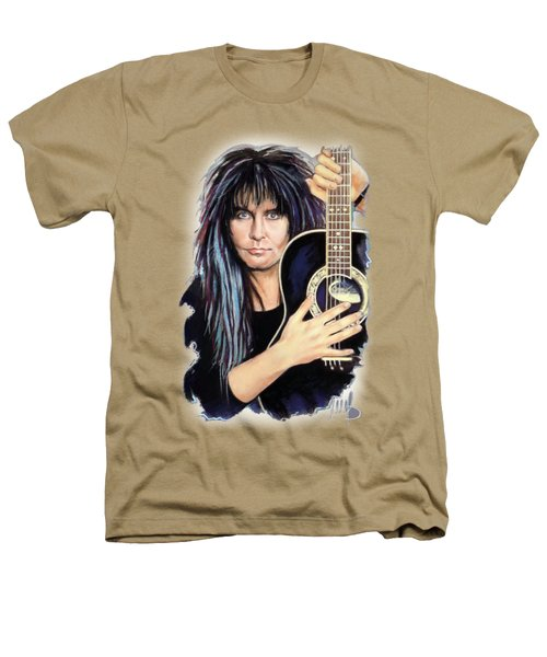 Blackie Lawless Heathers T-Shirt by Melanie D