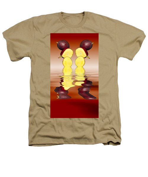 Fresh Ripe Mango Fruits Heathers T-Shirt by David French
