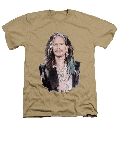 Steven Tyler  Heathers T-Shirt by Melanie D