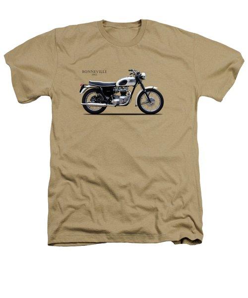 Triumph Bonneville 1963 Heathers T-Shirt by Mark Rogan