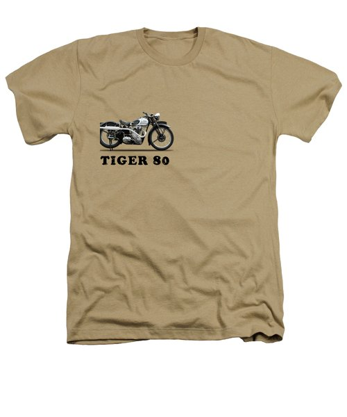 Triumph Tiger 80 1937 Heathers T-Shirt by Mark Rogan