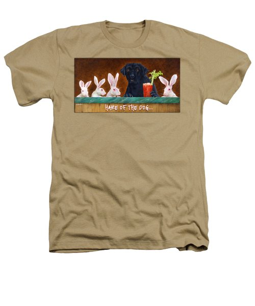 Hare Of The Dog... Heathers T-Shirt by Will Bullas