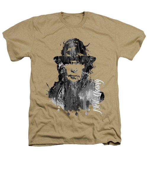 Neil Young Collection Heathers T-Shirt by Marvin Blaine