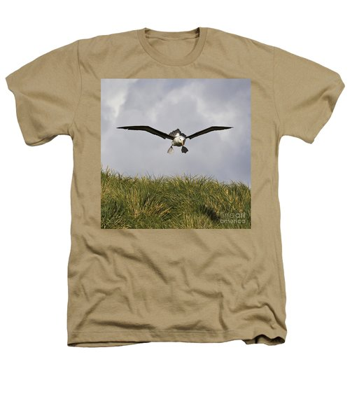 Black-browed Albatross Heathers T-Shirt by Jean-Louis Klein & Marie-Luce Hubert