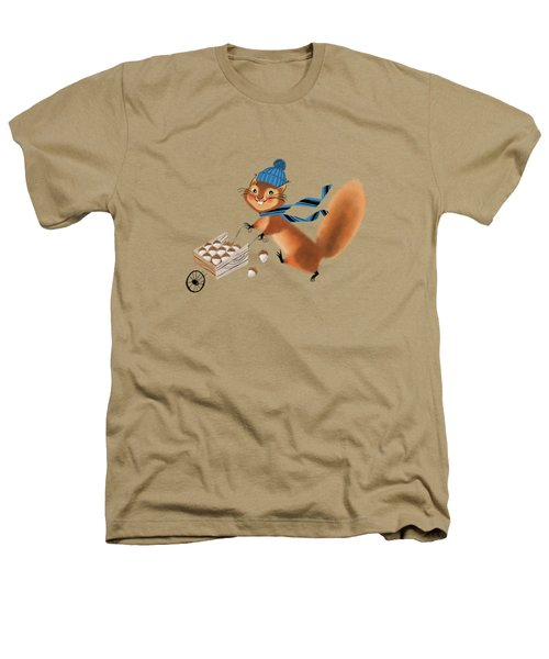 Acorn Industrialist Heathers T-Shirt by Little Bunny Sunshine