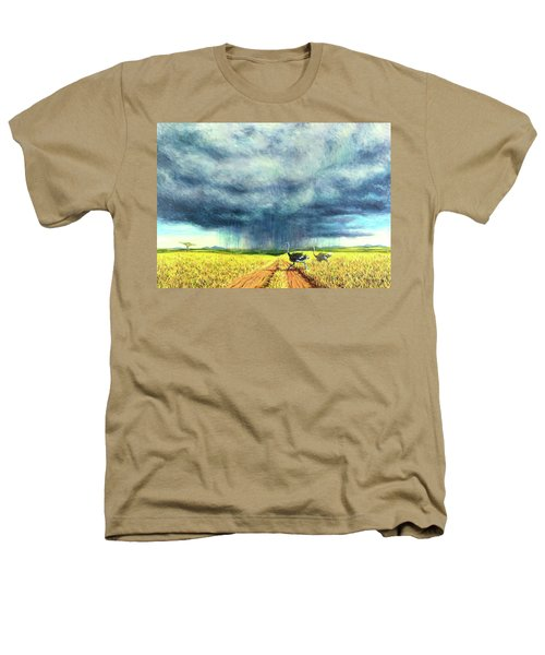 African Storm Heathers T-Shirt by Tilly Willis