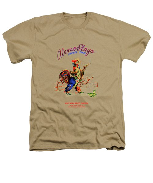 Alamo Plaza Tennessee 1950s Heathers T-Shirt by Mark Rogan