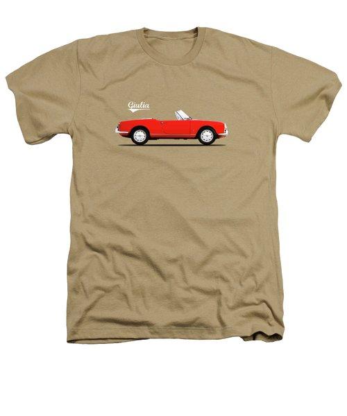 Alfa Giulia Spider 1964 Heathers T-Shirt by Mark Rogan