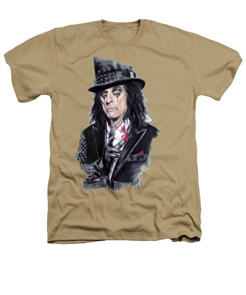 Alice Cooper Heathers T-Shirt by Melanie D