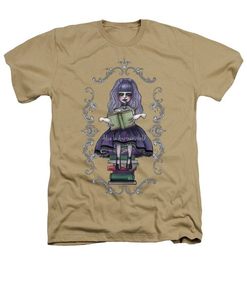 Alice In Another World 2 Heathers T-Shirt by Akiko Okabe