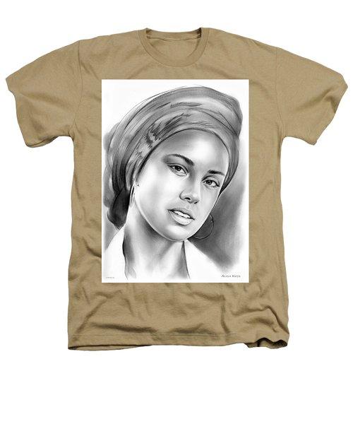 Alicia Keys Heathers T-Shirt by Greg Joens