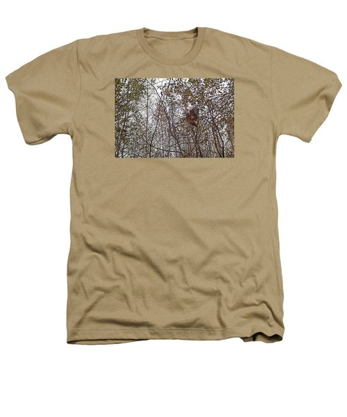 American Woodcock In October Foliage Heathers T-Shirt by Asbed Iskedjian