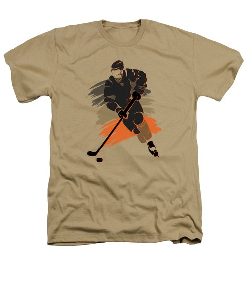 Anaheim Ducks Player Shirt Heathers T-Shirt by Joe Hamilton