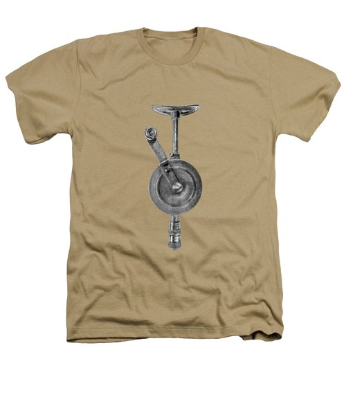 Antique Shoulder Drill Front Bw Heathers T-Shirt by YoPedro