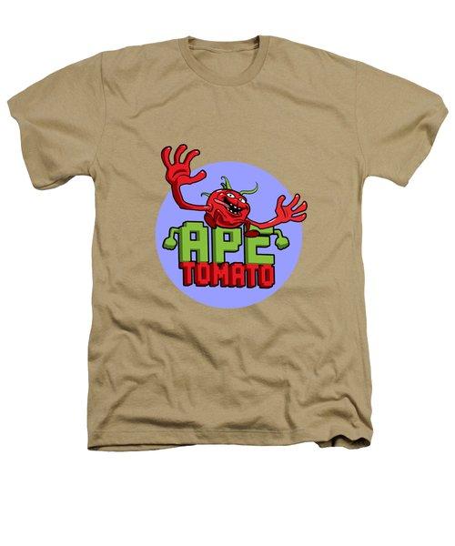 Ape Tomato Blue Purple Heathers T-Shirt by Nicolas Palmer