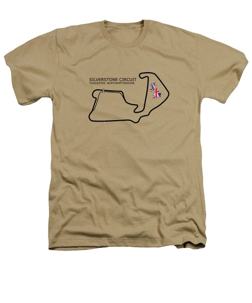 Silverstone Circuit Heathers T-Shirt by Mark Rogan
