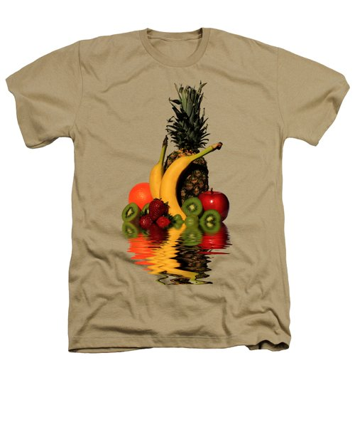 Fruity Reflections - Light Heathers T-Shirt by Shane Bechler