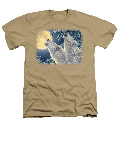 Moonlight Heathers T-Shirt by Lucie Bilodeau