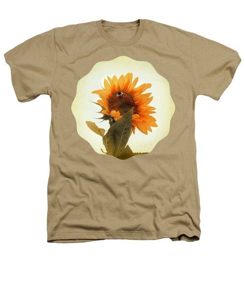Bee Mine - Paint Heathers T-Shirt by Anita Faye