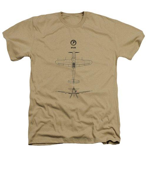 Messerschmitt Bf 109 Heathers T-Shirt by Mark Rogan