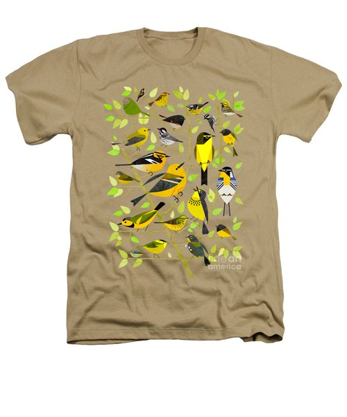Warblers 1 Heathers T-Shirt by Scott Partridge