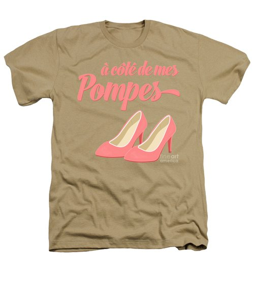 Pink High Heels French Saying Heathers T-Shirt by Antique Images
