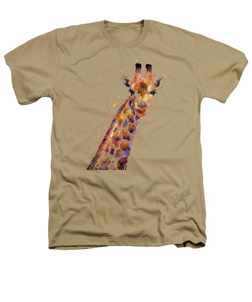 Giraffe Heathers T-Shirt by Hailey E Herrera