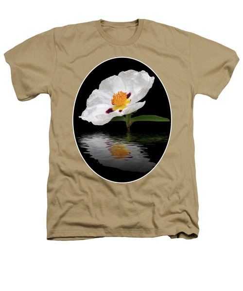 Cistus Reflections Heathers T-Shirt by Gill Billington