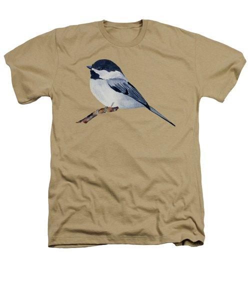 Chickadee Heathers T-Shirt by Francisco Ventura Jr